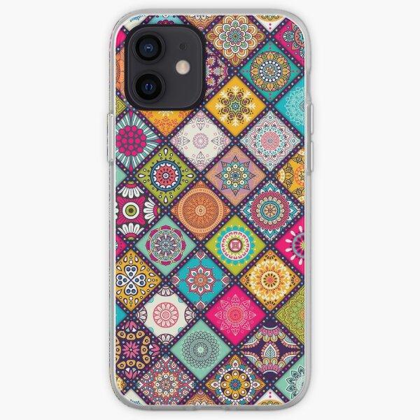 Mandala Hippie Bohemian Boho Ethnic Pattern Novelty Print iPhone Soft Case