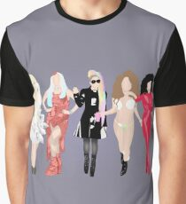 Gaga's eras. Graphic T-Shirt