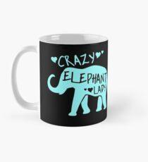 Crazy Elephant Lady - Elephant Lover Coffee Mug for Animal Activists, Animal Lovers Mug