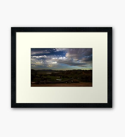 Beautiful Bonnie Doon Framed Print