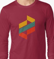 Abstract Letter Long Sleeve T-Shirt