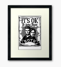 TVD Brothers Framed Print
