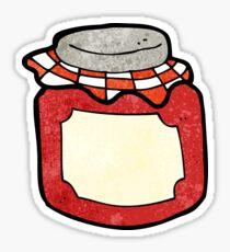 cartoon jam jar Sticker
