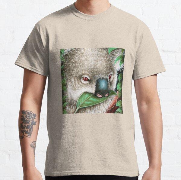 Cute Koala Munching a Leaf Classic T-Shirt