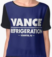 Vance Refrigeration - The Office Women's Chiffon Top