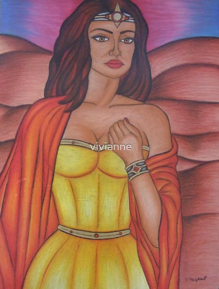 Hera - Queen of the Gods by vivianne