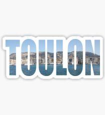 Toulon Sticker