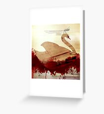 falling man Greeting Card