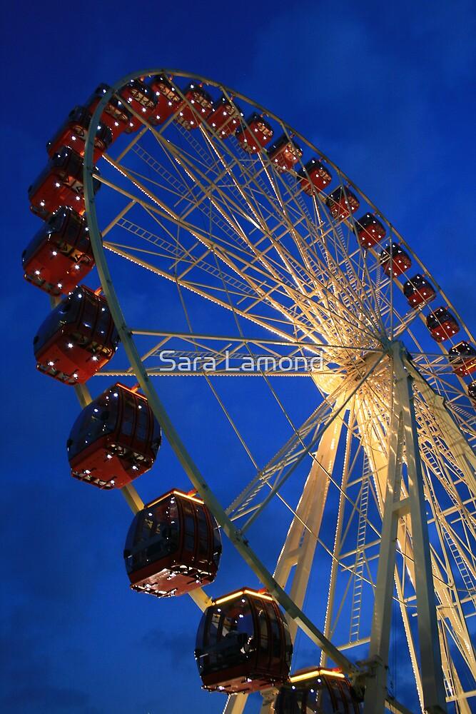 Ferris wheel by Sara Lamond