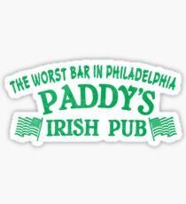 Always Sunny Worst Bar Sticker