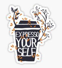Expresso Sticker