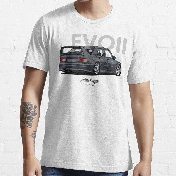 190E Evo II (schwarz) Essential T-Shirt