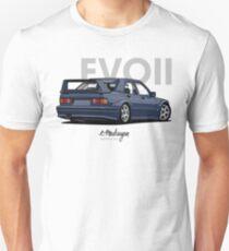 Mercedes 190E Evo II (blue) Unisex T-Shirt