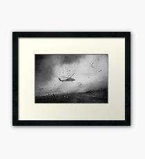 Helicopter Framed Print