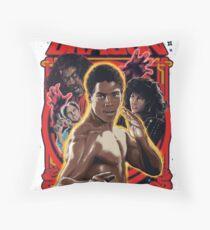 Bruce Lee Roy Throw Pillow