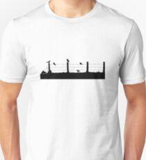 Birds on Fence T-Shirt