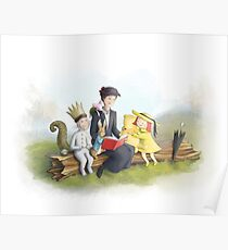 Classic Storybook Characters Poster