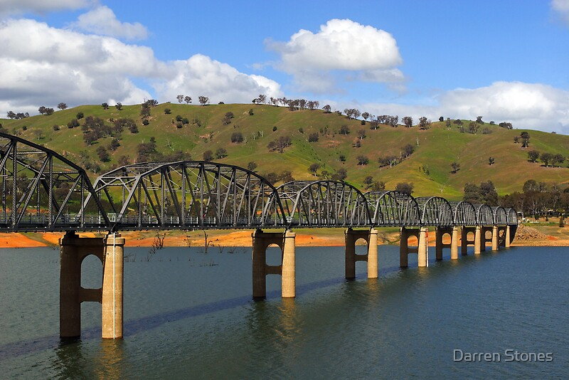 Quot Bethanga Bridge Near Albury Quot By Darren Stones Redbubble