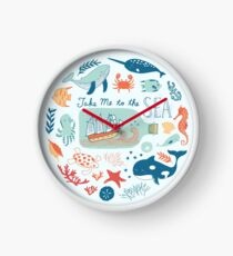 Take Me to the Sea Clock