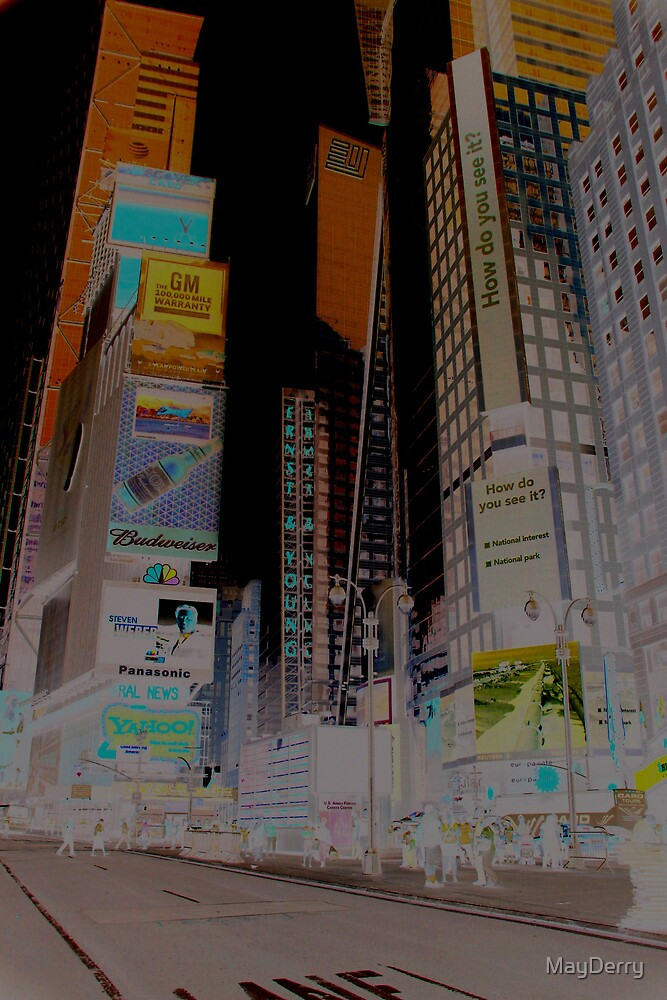 Times Square by MayDerry