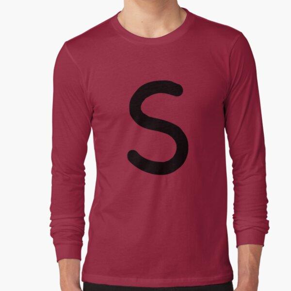 Jughead Jones 'S' Shirt (Black) Long Sleeve T-Shirt