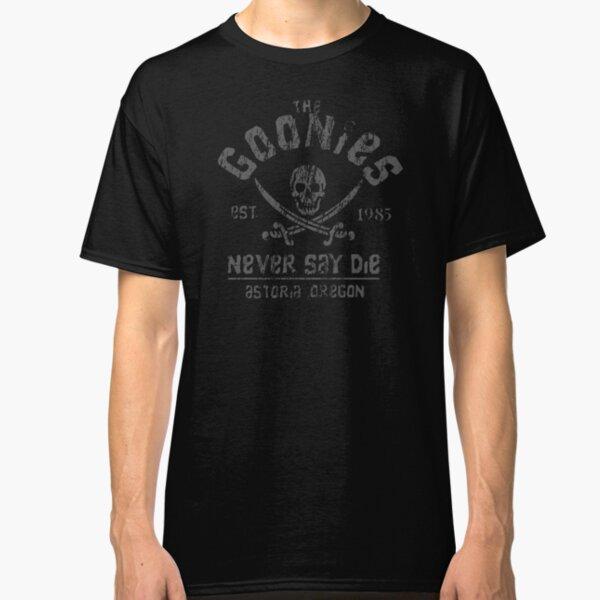 EASTGH Goonies Never Say Die Youth T-Shirt Short Sleeve Top Boys Girls Tee