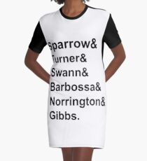 Movie: Pirates of the Caribbean (& Style) Graphic T-Shirt Dress