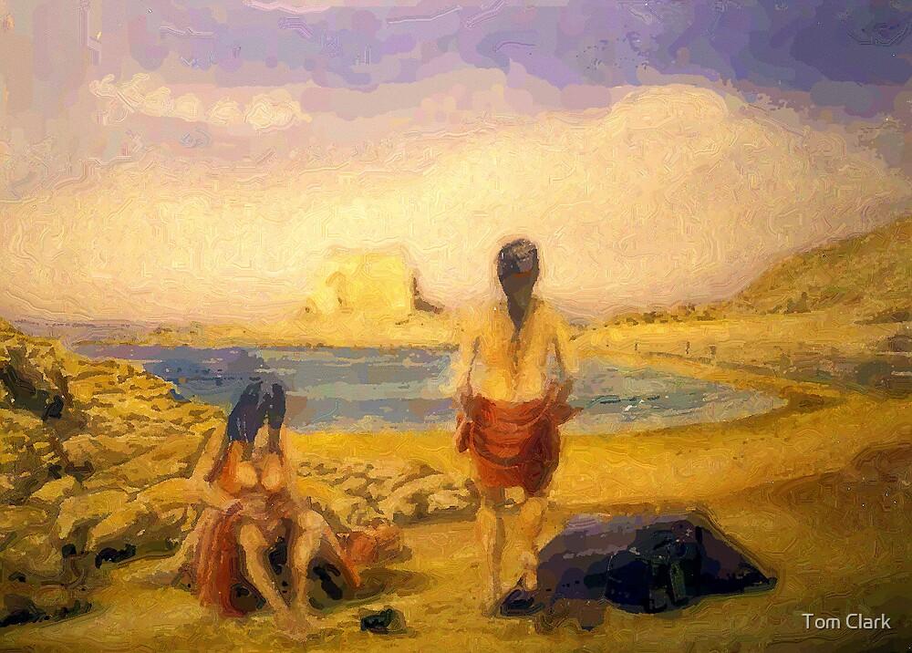 Beach Babes by Tom Clark
