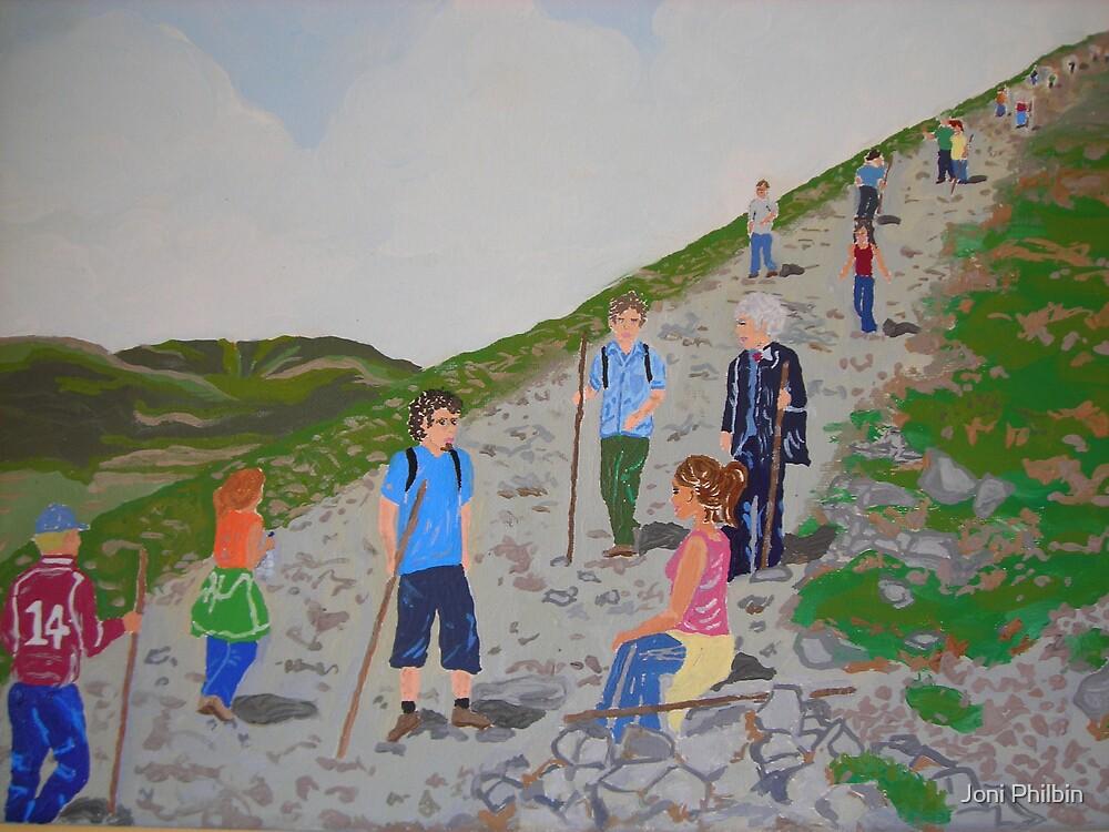 Pilgrimage at Croagh Patrick by Joni Philbin