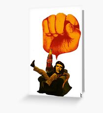 Confortable revolutionary Greeting Card