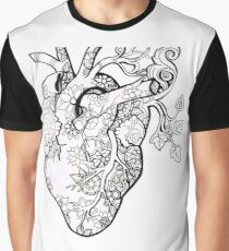 Botanical Heart  Graphic T-Shirt