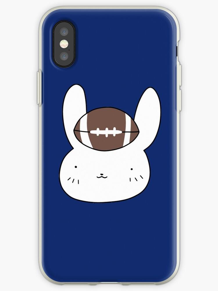 Football Bunny Face by SaradaBoru