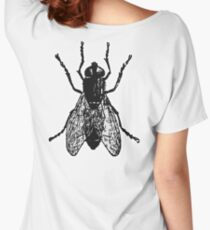 BUG, House Fly, Blue Bottle, THE FLY, FLY, House Fly, Insect Women's Relaxed Fit T-Shirt