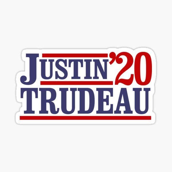 Justin Trudeau 2020 Sticker