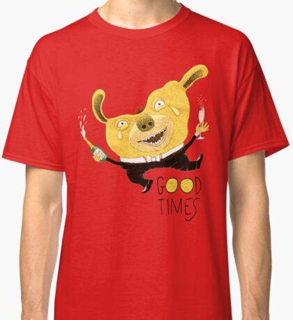 Good Times Golden Dog Celebration Classic T-Shirt