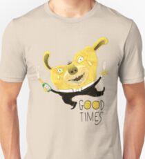Good Times Golden Dog Celebration Unisex T-Shirt