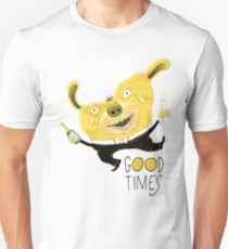 Good Times Golden Dog Celebration Unisex T-Shirt