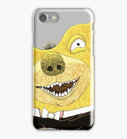Good Times Golden Dog Celebration iPhone Case/Skin