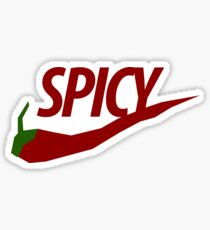 Spicy Chili Swoosh Sticker