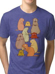 Wake up Groundhogs! Tri-blend T-Shirt