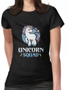 Magic Fantasy Unicorn Womens Fitted T-Shirt
