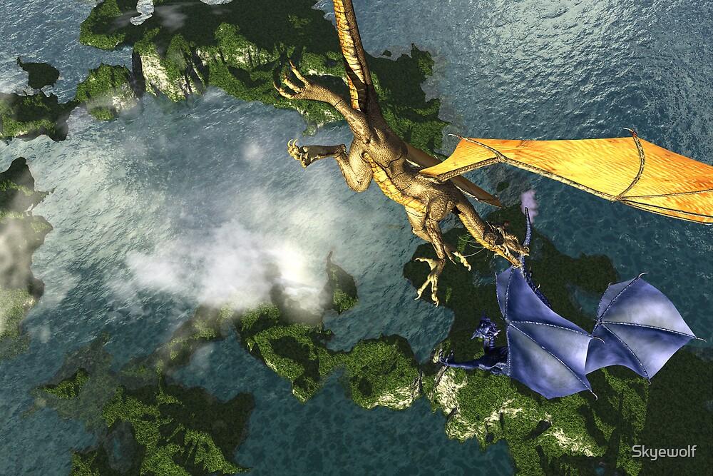 Dragon Rescue by Skyewolf