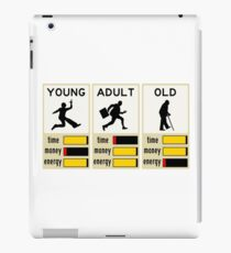 young adult old iPad Case/Skin
