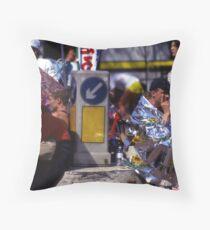 Marathon Throw Pillow