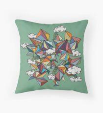 Llama Nebula Throw Pillow