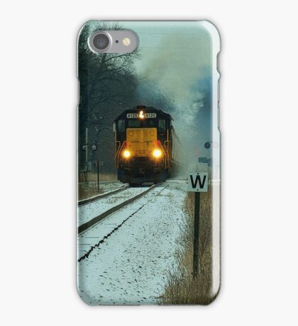 The last winter snow iPhone Case/Skin