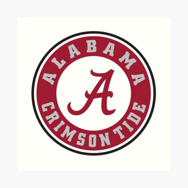 Alabama Logo Art Print