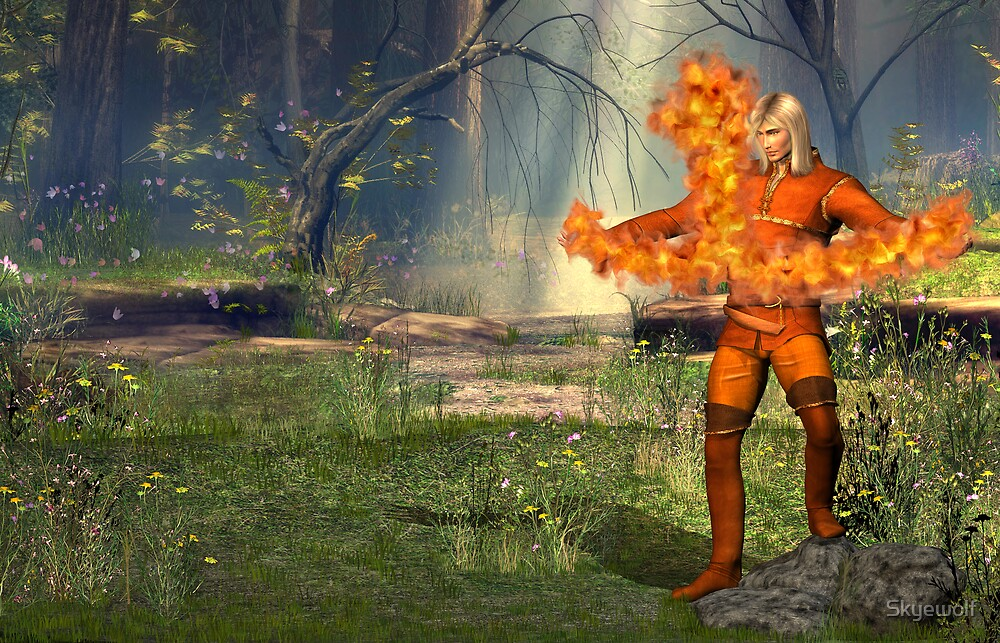 Pyromancer by Skyewolf