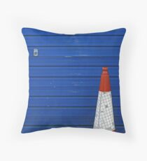 Traffic Cone  Throw Pillow