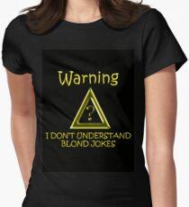 Blond Jokes Women's Fitted T-Shirt